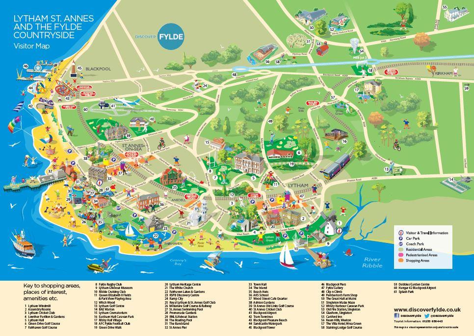 Fylde Map
