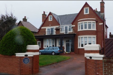 George Formby's house