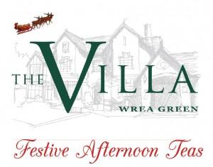 The Villa Festive Afternoon Tea